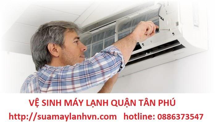 vệ sinh máy lạnh quận tân phú