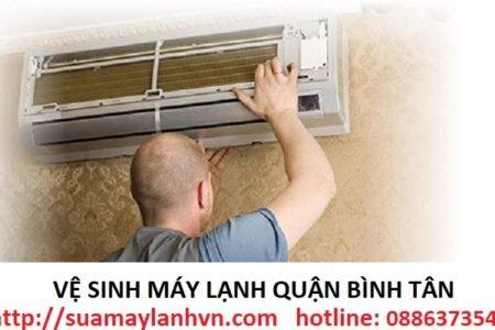 vệ sinh máy lạnh quận bình tân