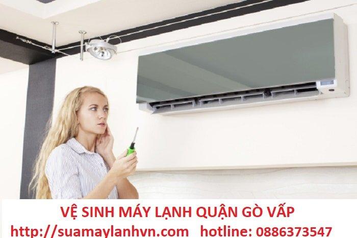 vệ sinh máy lạnh quận gò vấp