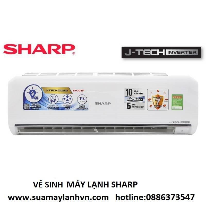 vệ sinh máy lạnh sharp