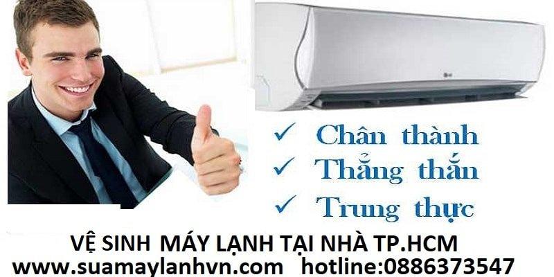 vệ sinh máy lạnh trane
