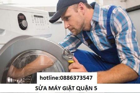 sửa máy giặt quận 5