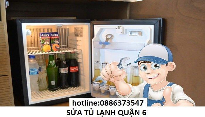 sửa tủ lạnh quận 6