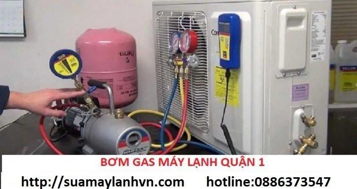 bơm gas máy lạnh quận 1
