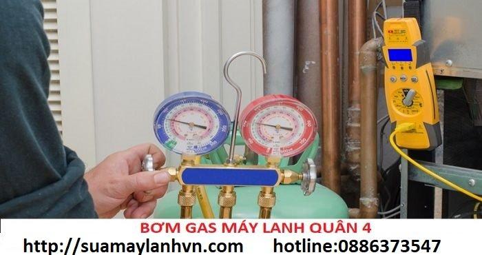 bơm gas máy lạnh quận 4