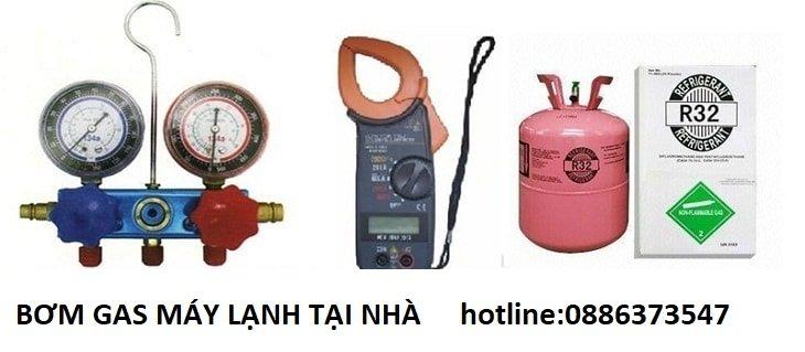 bơm gas máy lạnh tại nhà