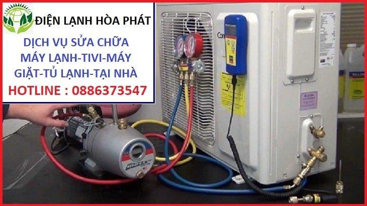 dịch vụ bơm ga máy lạnh tại nhà