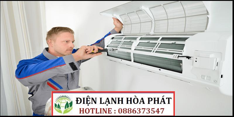 sửa máy lạnh đường Bùi Văn Ba