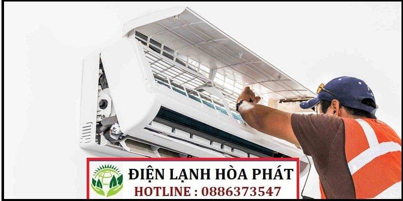 sửa máy lạnh đường Lâm Văn Bền