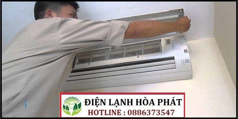 sửa máy lạnh đường Phú Thuận