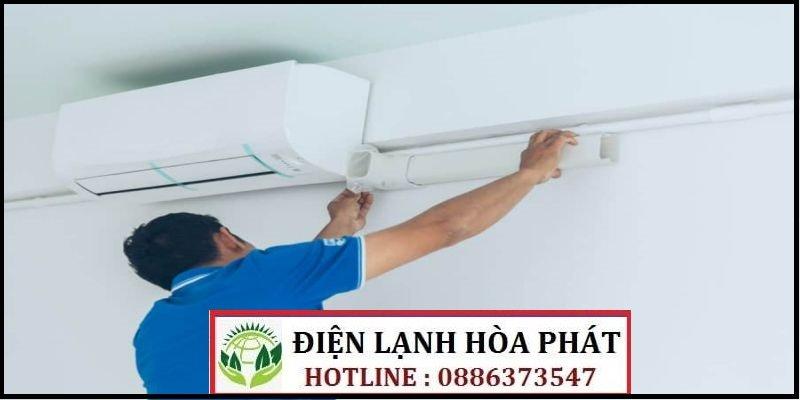 sửa máy lạnh đường Bùi Huy Bích