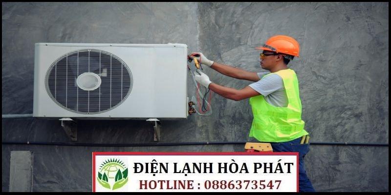 sửa máy lạnh đường Lưu Hữu Phước